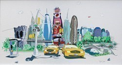 Times Travel by Dylan Izaak -  sized 33x19 inches. Available from Whitewall Galleries